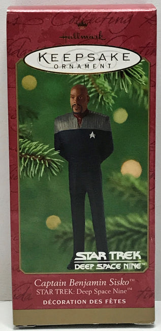 TAS040722 - 2001 Hallmark Keepsake Ornament Star Trek Deep Space Nine Sisko