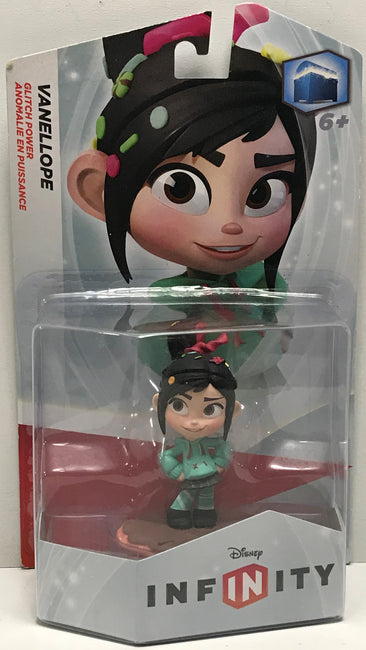 TAS040822 - 2014 Disney Infinity Action Figure - Vanellope Glitch Power
