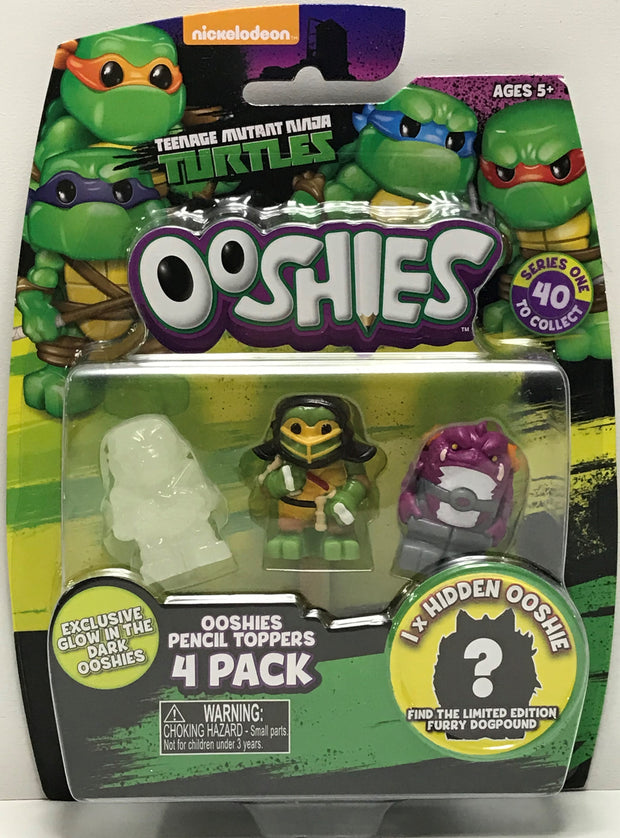 TAS040824 - 2016 Jakks Teenage Mutant Ninja Turtles Ooshies Pencil Toppers
