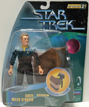 (TAS033717) - 1998 Paramount Star Trek Serialized Warp Factor - Miles O'Brien, , Action Figure, Star Trek, The Angry Spider Vintage Toys & Collectibles Store  - 1