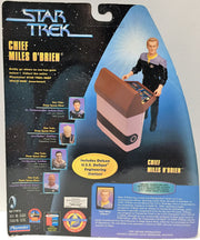 (TAS033717) - 1998 Paramount Star Trek Serialized Warp Factor - Miles O'Brien, , Action Figure, Star Trek, The Angry Spider Vintage Toys & Collectibles Store  - 2
