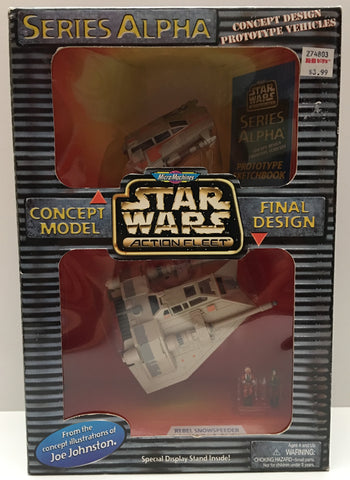 (TAS000035) - 1996 Galoob Micro Machines Star Wars Action Fleet Series Alpha
