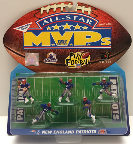 (TAS000032) - 1997 Galoob NFL All-Star MVP New England Patriots