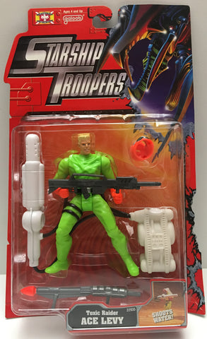 (TAS000047) - 1997 Galoob Starship Troopers - Toxic Raider Ace Levy
