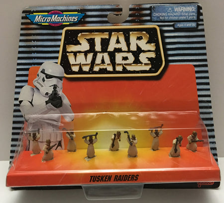 (TAS000064) - 1997 Galoob Micro Machines Star Wars Tusken Raiders