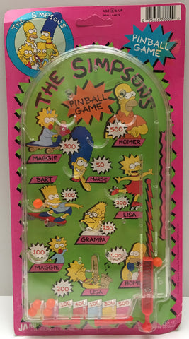 (TAS000037) - 1990 Ja-Ru The Simpsons Vintage Pinball Game