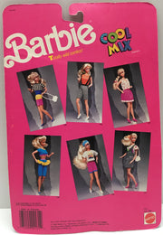 (TAS001094) - 1989 Mattel Barbie Cool Mix Fashions - Totally Wild Combos!