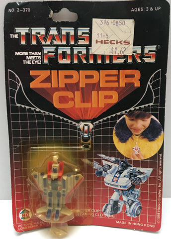 (TAS000016) - 1984 Hasbro HG Toys The Transformers Zipper Clip