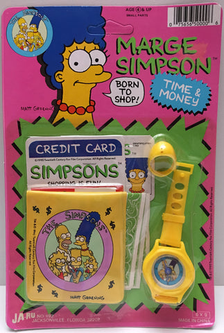 (TAS000701) - 1990 Ja-Ru The Simpsons Time & Money Set Marge Simpson