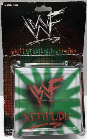 (TAS033749) - 1998 Pro Cube WWF Wrestling Collectible Get in the Game Pro Cube, , Game, Wrestling, The Angry Spider Vintage Toys & Collectibles Store  - 1