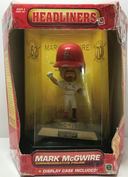 TAS040935 - 1998 Headliners MLB Mark McGuire Commemorative Figure