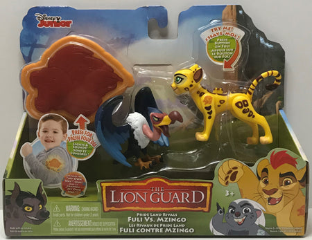 TAS040939 - 2017 Just Play Disney Junior The Lion Guard Fuli Vs. Mzingo