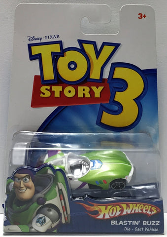 (TAS033794) - 2009 Mattel Disney Pixar Hot Wheels Toy Story 3 - Blastin' Buzz, , Action Figure, Disney, The Angry Spider Vintage Toys & Collectibles Store  - 1