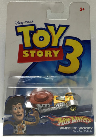 (TAS033793) - 2009 Mattel Disney Pixar Hot Wheels Toy Story 3 - Wheelin' Woody, , Action Figure, Disney, The Angry Spider Vintage Toys & Collectibles Store  - 1