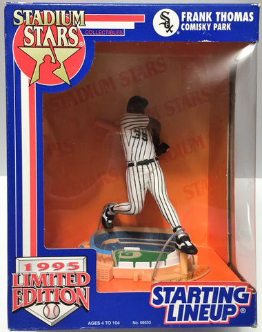(TAS033805) - 1995 Kenner MLB Stadium Stars Starting Lineup - Frank Thomas, , Action Figure, MLB, The Angry Spider Vintage Toys & Collectibles Store  - 1