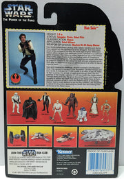 (TAS033782) - 1995 Tonka Star War The Power of the Force Figure - Han Solo, , Action Figure, Star Wars, The Angry Spider Vintage Toys & Collectibles Store  - 2