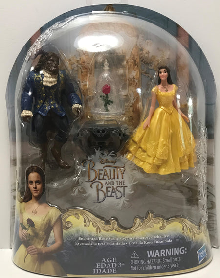 TAS040990 - 2016 Hasbro Disney Beauty And The Beast Action Figure Set