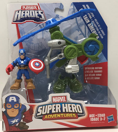 TAS040992 - 2015 Hasbro Marvel Playskool Heroes Captain America Adventures