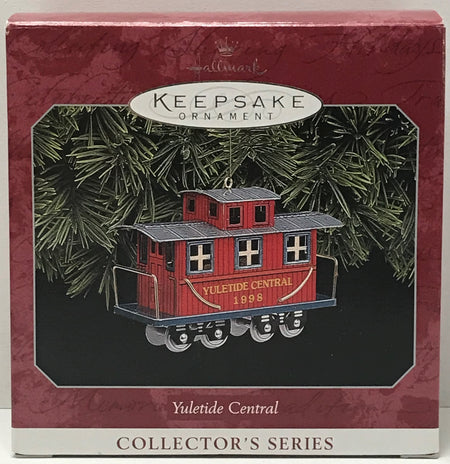 TAS040998 - 1998 Hallmark Keepsake Ornament - Yuletide Central Collector's Series