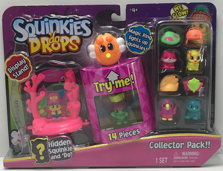 TAS040999 - 2017 Blip Toys Squinkies 'Do Drops 14 Piece Collector Pack!!