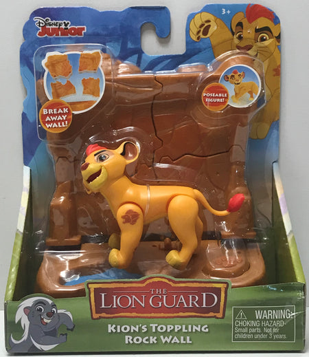 TAS039824 - 2016 Just Play Disney Junior The Lion Guard Kion's Toppling Rock Wall