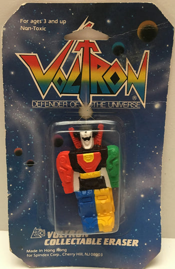 (TAS000021) - 1984 Spindex - Voltron Defender Of The Universe Eraser