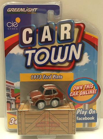 (TAS020003) - 2013 Greenlight Car Town 1973 Ford Pinto Brown