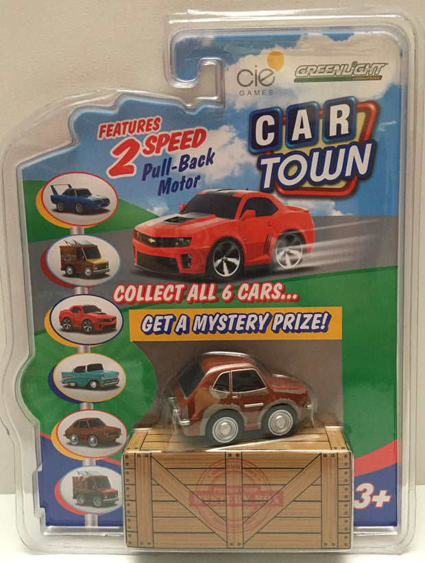 Tas020003 2013 Greenlight Car Town 1973 Ford Pinto Brown The