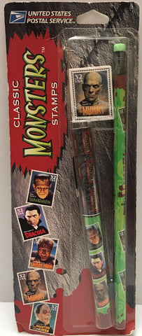 (TAS025001) - 1997 U.S. Postal Service Classic Monster Stamps The Mummy