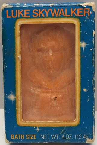 (TAS000105) - 1981 Omni Lucasfilm Star Wars Bath Soap - Luke Skywalker