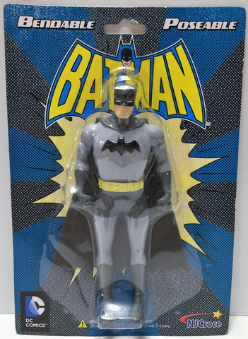 (TAS033889) - DC Comics Bendable Poseable Superhero Action Figure - Batman, , Action Figure, DC Comics, The Angry Spider Vintage Toys & Collectibles Store  - 1