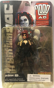 (TAS000080) - 1999 Re:Action Figures 2000 AD Durham Red The Scarlet Cantos