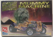 (TAS000030) - 1996 ERTL Monster Rides Glow In The Dark Mummy Machine Model Kit