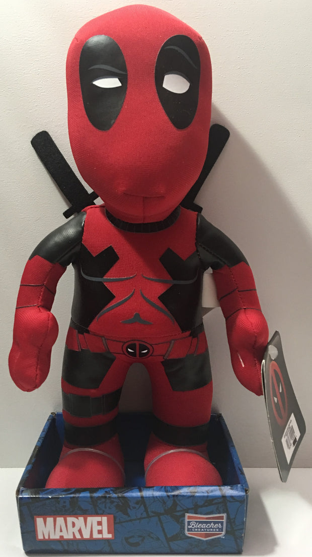 "(TAS000089) - 2016 Bleacher Creatures 10"" Deadpool Plush Figure"