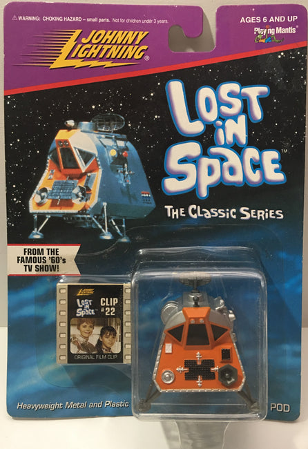 (TAS000010) - 1998 Playing Mantis Johnny Lightning Lost In Space Pod Clip 22