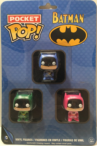 (TAS000085) - 2016 Funko Pocket Pop! Batman Vinyl Figures