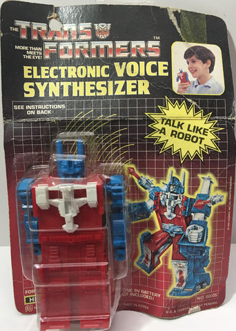 (TAS036034) - Nasta The Transformers Electronic Voice Synthesizer