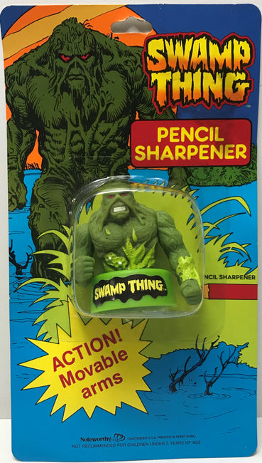 TAS041074 - 1991 Noteworthy DC Comics Swamp Thing Pencil Sharpener