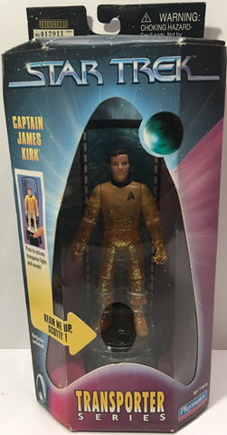 (TAS036037) - 1998 Playmates Star Trek Transporter Series - Captain James Kirk
