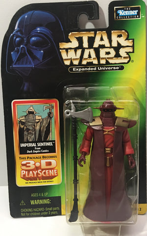 (TAS036041) - 1998 Kenner Hasbro Star Wars Expanded Universe Imperial Sentinel