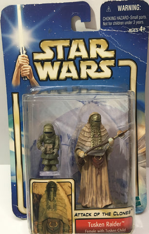 (TAS036042) - Hasbro Star Wars Attack Of The Clones Tusken Raider Female