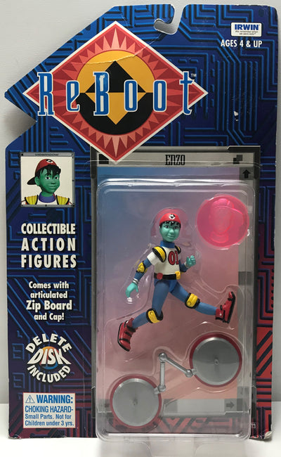 TAS040749 - 1995 Irwin Toy Reboot Collectible Action Figure - Enzo
