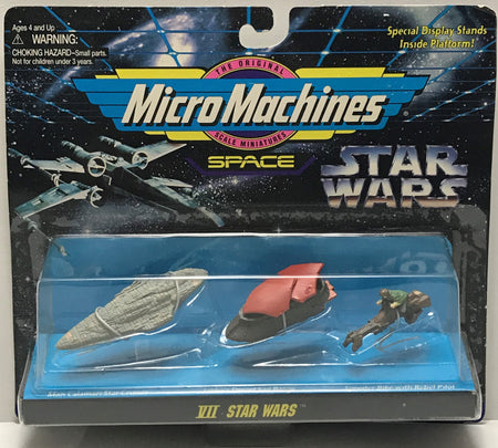 TAS040781 - 1995 Galoob Micro Machines Star Wars Die-Cast Set VII Star Wars