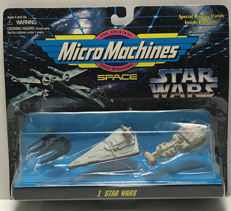 TAS040767 - 1995 Galoob Star Wars Micro Machines Space Die-Cast - I Star Wars