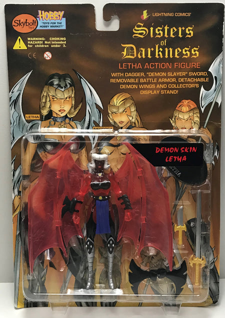 TAS040769 - 1998 Skybolt Toyz Sisters Of Darkness Demon Skin Letha Figure