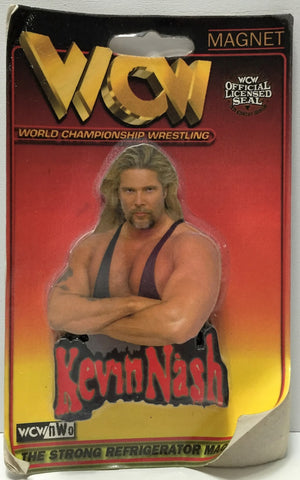 (TAS034022) - 1999 Much Magnets WCW nWo Wrestling Official Magnet - Kevin Nash, , Magnets, Much Magnets, The Angry Spider Vintage Toys & Collectibles Store  - 1