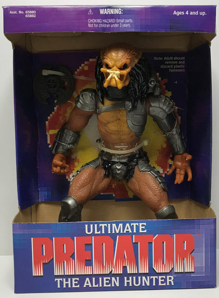 TAS041127 - 1995 Kenner Ultimate Predator The Alien Hunter Action Figure