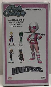 TAS041130 - 2017 Funko Rock Candy Marvel Vinyl Collectible - Gwenpool