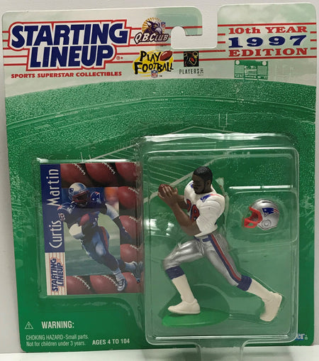 TAS041136 - 1996 Kenner Starting Lineup NFL Action Figure - Curtis Martin