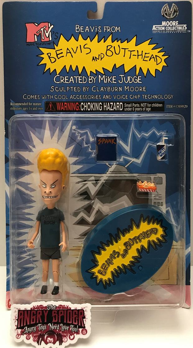 (TAS000114) - 1998 Moore Action Collectibles MTV's Beavis And Butt-Head - Beavis